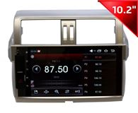 Штатная магнитола Wide Media WM-1034HD для Toyota Land Cruiser Prado 150 2013 +  на Android 4