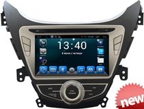 Штатная магнитола 2din Daystar DS-7052HD (4 ядра, GPS/Глонасс) для Hyundai Elantra 2008+