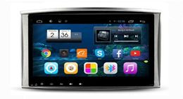 Штатная магнитола Carmedia FT-2720 для Toyota Land Cruiser 100 2002-2008 на Android 7