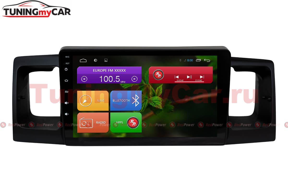 Штатная магнитола Redpower 31070 R IPS DSP для Toyota Universal на Android 7