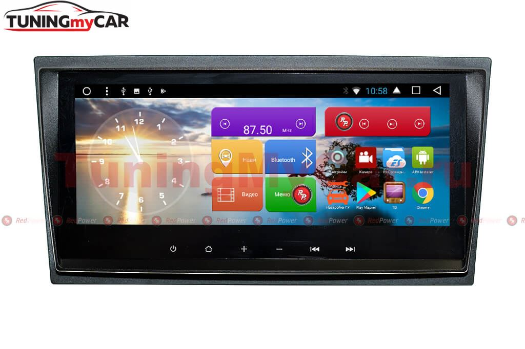 Штатная магнитола Redpower 31187 IPS DSP для Toyota Avensis 2009-2015 на Android 7