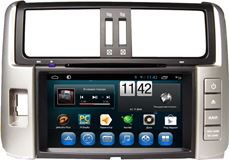 Штатная магнитола Carmedia KR-8005-T8 для Toyota Land Cruiser Prado 150 2009-2013 на Android